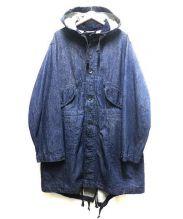 Engineered Garments(エンジニアードガーメンツ)の古着「ハイランドパーカー」 インディゴ