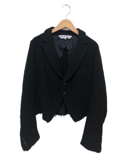COMME des GARCONS COMME des GARCONS(コムデギャルソン コムデギャルソン)COMME des GARCONS COMME des GARCONS (コムデギャルソン コムデギャルソン) ウールジャケット ブラック サイズ:M TE-J025 2005AWの古着・服飾アイテム
