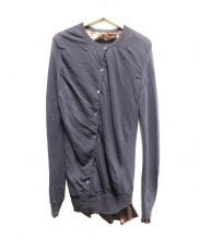 sacai(サカイ)の古着「デザインレイヤードカーディガン」 グレー