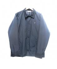 DESCENDANT(ディセンダント)の古着「中綿コーチジャケット」|ネイビー