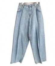 NEON SIGN(ネオンサイン)の古着「デニムパンツ」|ライトブルー