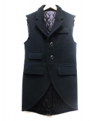GANRYU(ガンリュウ)の古着「ベスト」|ブラック