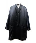 COMME des GARCONS(コムデギャルソン)の古着「シルクウールジャケット」|ブラック
