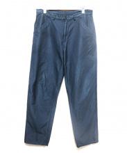 COMME des GARCONS SHIRT(コムデギャルソンシャツ)の古着「製品染めポリエステルパンツ」|グリーン
