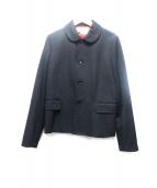 COMME des GARCONS COMME des GARCONS(コムデギャルソン コムデギャルソン)の古着「ウール丸襟ジャケット」