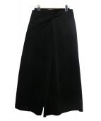 Yohji Yamamoto(ヨウジヤマモト)の古着「袴ワイドパンツ」|ブラック