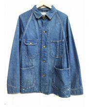 orSlow(オアスロウ)の古着「デニムカバーオール」|ブルー