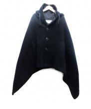 COMME des GARCONS COMME des GARCONS(コムデギャルソン コムデギャルソン)の古着「ポンチョ」|ブラック