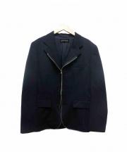 COMMEdesGARCONS(コム デ ギャルソン)の古着「ジップテーラードジャケット」