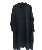 ISSEY MIYAKE HaaT(イッセイミヤケハート)の古着「刺繍シャツワンピース」