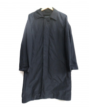 ATON(エイトン)の古着「AIR VENTILE COAT」|ブラック