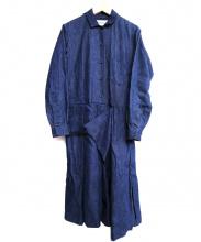 YAECA(ヤエカ)の古着「デニムコンビネゾン」|インディゴ