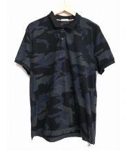 MONCLER(モンクレール)の古着「ポロシャツ」|ブラック