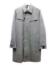 N.HOOLYWOOD(エヌハリウッド)の古着「千鳥格子コート」|グレー