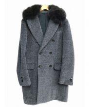 Brilla per il gusto(ブリッラ ペル イル グスト)の古着「ウールダブルコート」|グレー