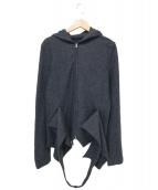 Y's Red Label(ワイズレッドレーベル)の古着「デザインジャケット」|グレー