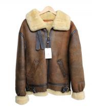 AVIREX(アヴィレックス)の古着「B-3ジャケット」|ブラウン