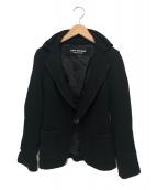 JUNYA WATANABE COMME des GARCONS(ジュンヤワタナベ コムデギャルソン)の古着「ニットジャケット」|ブラック
