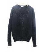 Dior Homme(ディオールオム)の古着「ビーズニット」