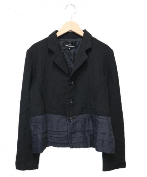 tricot COMME des GARCONS(トリココムデギャルソン)tricot COMME des GARCONS (トリココムデギャルソン) ウールシルクジャケット ブラック サイズ:M TR-J033 2006AWの古着・服飾アイテム