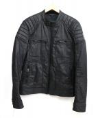Belstaff(ベルスタッフ)の古着「バイカージャケット」|ブラック