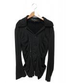 JUNYA WATANABE COMME des GARCONS(ジュンヤワタナベ コムデギャルソン)の古着「スパンコールジャケット」 ブラック
