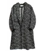 EN ROUTE(アンルート)の古着「ジャガードガウンコート」