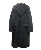 COMME des GARCONS(コムデギャルソン)の古着「ロングコート」|ブラック
