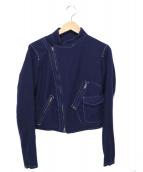 Y's(ワイズ)の古着「ウールジャケット」|ブルー
