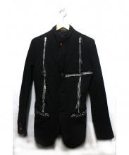 COMME des GARCONS HOMME PLUS(コムデギャルソンオムプリュス)の古着「ジップデザインポリ縮ジャケット」