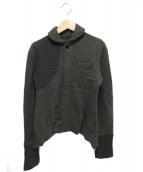 Y's(ワイズ)の古着「ウールシャツ」|カーキ