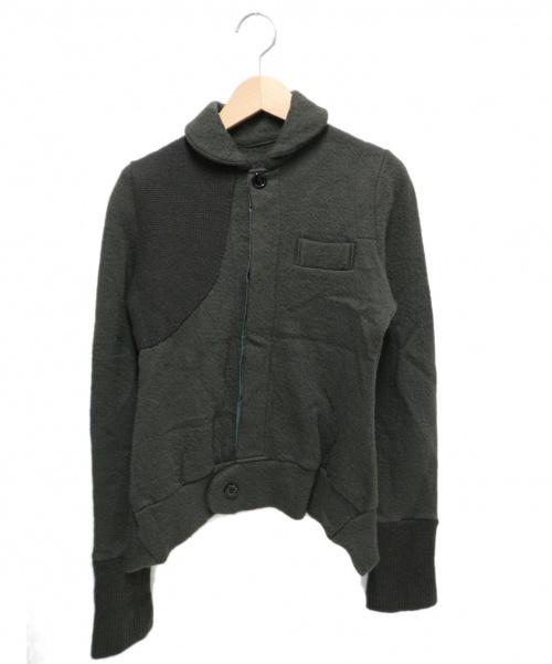Y's(ワイズ)Y's (ワイズ) ウールシャツ カーキ サイズ:2 YL-T32-5632の古着・服飾アイテム
