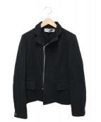ROBE DE CHAMBRE COMME DES GARCONS(ローブドシャンブルコムデギャルソン)の古着「ライダースジャケット」|ブラック