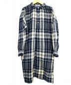 45R(45アール)の古着「ワンピース」|ネイビー