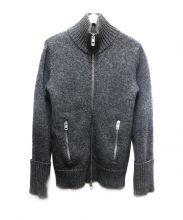 Dior Homme(ディオールオム)の古着「ヘヴィオンスニットジャケット」