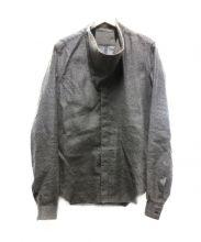 RICK OWENS(リックオウエンス)の古着「カシミアシルクニットシャツ」