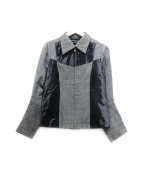 JUNYA WATANABE CDG(ジュンヤワタナベ コムデギャルソン)の古着「ジップジャケット」|グレー