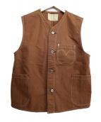 LEVI'S VINTAGE CLOTHING(リーバイス ビンテージ クロージング)の古着「DUCK HUNTER VEST」|ブラウン