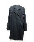 GUCCI(グッチ)の古着「ヴィンテージオーバーコート」|ブラック