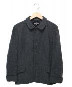 tricot COMME des GARCONS(トリコ コムデギャルソン)の古着「ラウンドカラーウールジャケット」|グレー