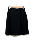 ISSEI MIYAKE(イッセイミヤケ)の古着「ウールラップスカート」