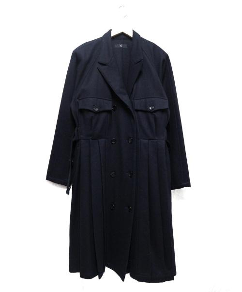 Ys(ワイズ)Ys (ワイズ) ロングウールダブルチェスターコート サイズ:下記参照の古着・服飾アイテム