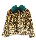 LI HUA(リーファー)の古着「フィクファーコート」|ブラウン