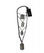 HTC(エイチティーシー)の古着「ミリタリーネックレス」|シルバー
