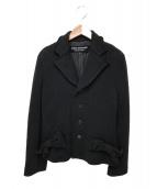 JUNYA WATANABE CDG(ジュンヤワタナベコムデギャルソン)の古着「リボンニットジャケット」|ブラック