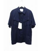 sacai(サカイ)の古着「オーバーサイズミリタリーシャツ」