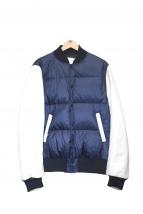sacai(サカイ)の古着「袖レザーダウンジャケット」