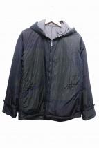 JIL SANDER(ジルサンダー)の古着「中綿ナイロンフーディ」