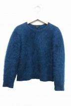 GUCCI(グッチ)の古着「アンゴラニット」|ブルー