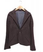 Y's(ワイズ)の古着「エルボーパッチジャケット」|ブラウン